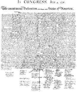 the declaration of independence written and signed in fair copy signed printed and spread through the colonies to be read aloud began as an unruly act